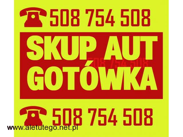 Skup samochodów sprawnych / Skup aut ZA GOTÓWKĘ